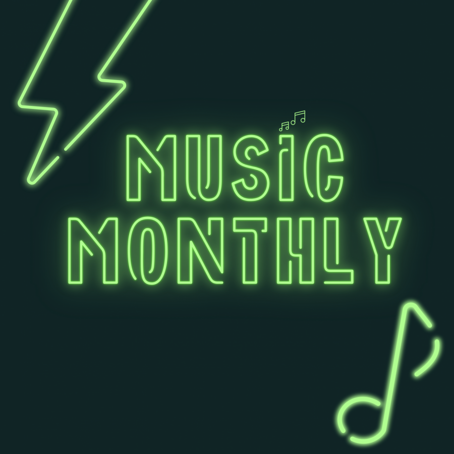 Music Monthly podcast album cover.